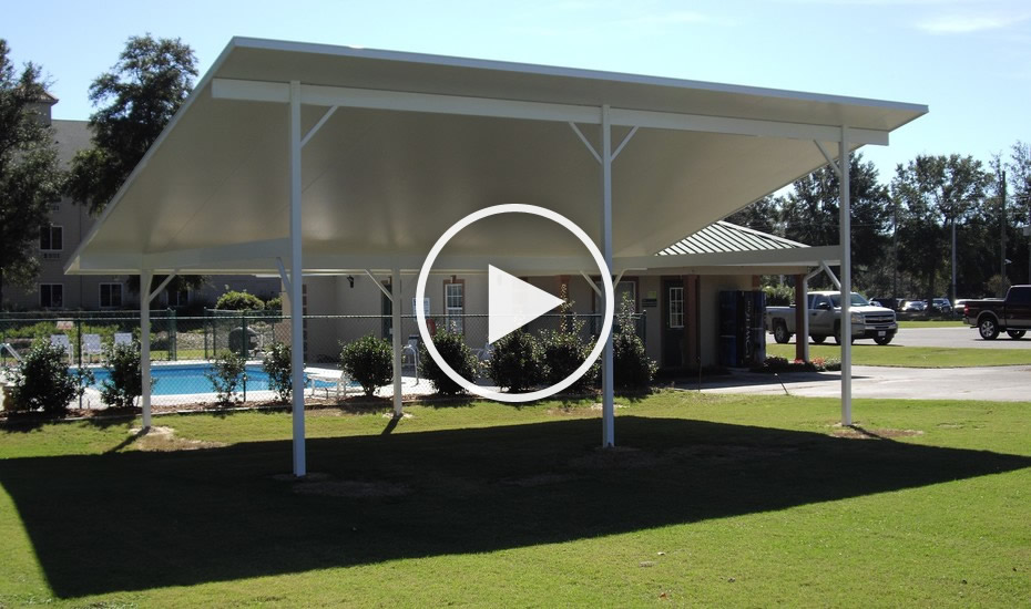 Awnings and Patio Covers by All Custom Aluminum | 1-850 ...